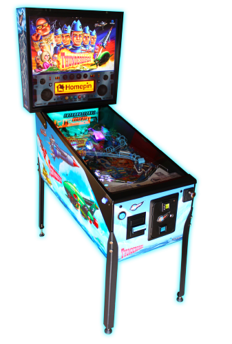 Thunderbirds Pinball Machine