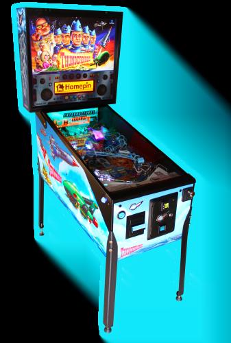 Thunderbirds Pinball Machine
